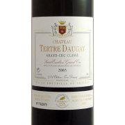 シャトー・テルトル・ドーゲ サンテミリオン・グラン・クリュ 2003 シャトー元詰 フランス ボルドー 赤ワイン 750ml