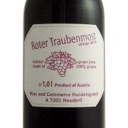 ローター・トラウベ・モスト ワイン用ぶどうのジュース 赤 オーストリア 1000ml