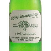 ワイサー・トラウベ・モスト ワイン用ぶどうのジュース 白 オーストリア 1000ml