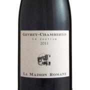 ジュヴレ・シャンベルタン ラ・ジャスティス 2011 ラ・メゾン・ロマネ フランス ブルゴーニュ 赤ワイン 750ml