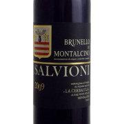 ブルネッロ・ディ・モンタルチーノ サルヴィオーニ 2009 ラ・チェルバイオーラ イタリア トスカーナ 赤ワイン 750ml