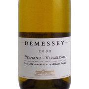 ペルナン・ヴェルジュレス・ブラン 2002 ドゥメセ フランス ブルゴーニュ 赤ワイン 750ml