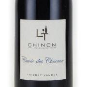 シノン キュヴェ・デ・クロゾー 2015 ティエリー・ランドリ フランス ロワール 赤ワイン 750ml