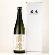 国権 純米吟醸 金ラベル 専用ギフト箱付 福島県国権酒造 720ml