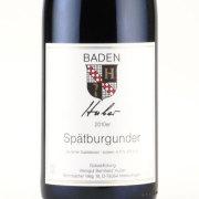 フーバー・シュペートブルグンダー 2010 ベルンハルト・フーバー ドイツ バーデン 赤ワイン 750ml