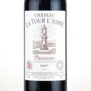 シャトー・トゥール・ラスピック 2007 シャトー元詰 フランス ボルドー 赤ワイン 750ml