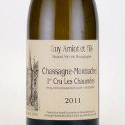 シャサーニュ・モンラッシェ プルミエクリュ・レ・ショーメ 2011 アミオ ・ギイ・ エ ・フィス フランス ブルゴーニュ 白ワイン 750ml