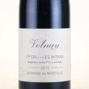 ヴォルネイ・プルミエクリュ レ・ミタン 2011 ド・モンティーユ フランス ブルゴーニュ 赤ワイン 750ml