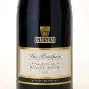 ピノ・ノワール 2012 ギーセン エステート ニュージーランド マールボロ 赤ワイン 750ml