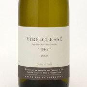 """ヴィレ・クレッセ """"テット"""" 2008 テヴネ・エ・フィス フランス ブルゴーニュ 白ワイン 750ml"""