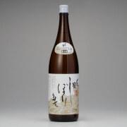 〆張鶴しぼりたて生酒1800ml 新潟県宮尾酒造