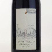 バッハラッハー・シュペートブルグンダー トロッケン 2010 ヴァイングート・ラッツェンベルガー ドイツ ミッテルライン 赤ワイン 750ml