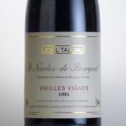 サン・ニコラ・ド・ブルグイユ ヴィエイユ・ヴィーニュ 1991 ジョエル・タリュオー フランス ロワール 赤ワイン 750ml