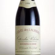 コート・デュ・ローヌ ルージュ キュベ・デ・ローリエ 1998 ラ・グランジェット・サン・ジョセフ フランス 赤ワイン 750ml