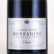 フランチャコルタ・カルベディエム サテン・ブリュット ボンファディーニ イタリア ロンバルディア 白ワイン 750ml