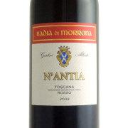 ナンティア I.G.T 2009 バッディア・ディ・モローナ イタリア トスカーナ 赤ワイン 750ml