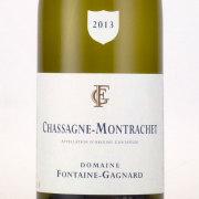 シャサーニュ・モンラッシェ 2013 ドメーヌ・フォンテーヌ・ガニャール フランス ブルゴーニュ 白ワイン 750ml