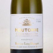 シャブリ・ムートンヌ グラン・クリュ(特級) 2013 ドメーヌ・ロン・デパギ フランス ブルゴーニュ 白ワイン 750ml