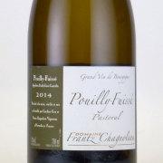 プイイ・フュイッセ パストラル 2014 ドメーヌ・フランツ・シャノロー フランス ブルゴーニュ 白ワイン 750ml