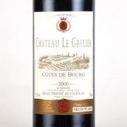 シャトー・ル・グルリエール 2000 シャトー元詰 フランス ボルドー 赤ワイン 750ml