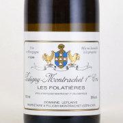 ピュリニー モンラッシェ プルミエ クリュレ フォラティエール 2012 ルフレーヴ フランス ブルゴーニュ 白ワイン 750ml