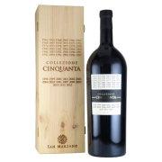 コレッツィオーネ・チンクアンタ 50 カンティーネ・サン・マルツァーノ イタリア プーリア州 赤ワイン 3000ml(木箱入り)