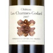 シャトー・レ・シャルム・ゴダール ブラン 2007 シャトー元詰 フランス ボルドー 白ワイン 750ml