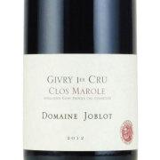 ジヴリー・プルミエクリュ クロ・マロル・ルージュ 2012 ドメーヌ・ジョブロ フランス ブルゴーニュ 赤ワイン 750ml