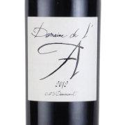 ドメーヌ・ド・ラ 2012 シャトー元詰 フランス ボルドー 赤ワイン 750ml