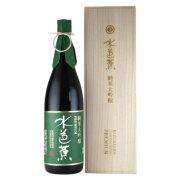 水芭蕉 純米大吟醸プレミアム 木箱入り 群馬県永井酒造 1800ml