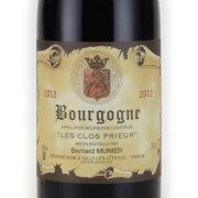 ブルゴーニュ・ルージュ レ・クロ・プリウール 2012 ベルナール・ミュニエ フランス ブルゴーニュ 赤ワイン 750ml
