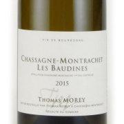 シャサーニュ・モンラッシェ プルミエ・クリュ・ボーディーヌ 2015 トマ・モレ フランス ブルゴーニュ 白ワイン 750ml