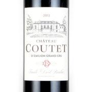 シャトー・クーテット サンテミリオン・グラン・クリュ 2012 シャトー元詰 フランス ボルドー 赤ワイン 750ml