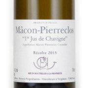 マコン ピエールクロ 1er ジュ・ド・シャヴィーニュ 2015 ギュファン・エナン フランス ブルゴーニュ 白ワイン 750ml
