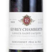 ジュヴレ シャンベルタン 1er Cruラボー・サンジャック 1972 ルモワスネ フランス ブルゴーニュ 赤ワイン 750ml