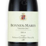 ボンヌ・マール 2014 ロベール・グロフィエ フランス ブルゴーニュ 赤ワイン 750ml