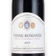 ヴォーヌ・ロマネ 2015 ロベール・シリュグ フランス ブルゴーニュ 赤ワイン 750ml