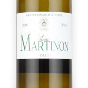 シャトー・マルティノン ブラン 2016 シャトー元詰 フランス ボルドー 白ワイン 750ml