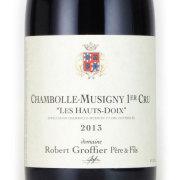 シャンボール・ミュジニ 1er レ・ゾードワ 2013 ロベール・グロフィエ フランス ブルゴーニュ 赤ワイン 750ml