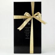 「ブラックロングワインボックス」2本用かぶせ式 (720・750ml用)