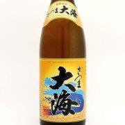 芋焼酎「さつま大海」 鹿児島県大海酒造協業組合 1800ml