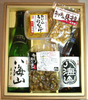 【ギフト】日本酒720ml瓶2本&こだわりのおつまみセット (T-1001)