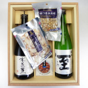 日本酒720ml瓶2本&こだわりのおつまみセット (T-1028)