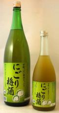 にごり梅酒 1800ml 埼玉県麻原酒造