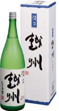 悟乃越州純米吟醸1800ml 新潟県朝日酒造