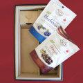 ワインと合わせる 2018年バレンタインパッケージ チョコと1本用の箱 (お好きなお酒と一緒にご注文ください)