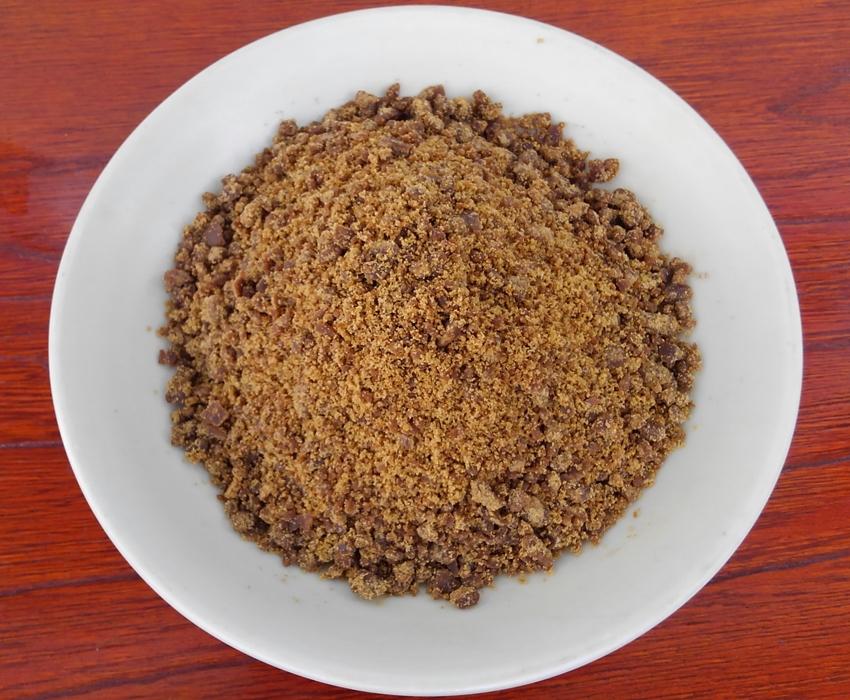 粉タイプ手作り地釜炊き純黒糖(200g)5袋セット