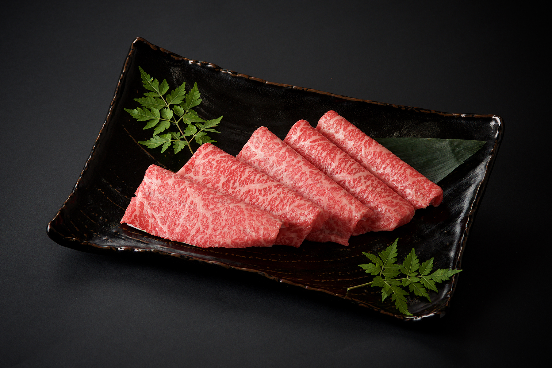 九州産黒毛和牛 モモすきやき用/100g(1500)