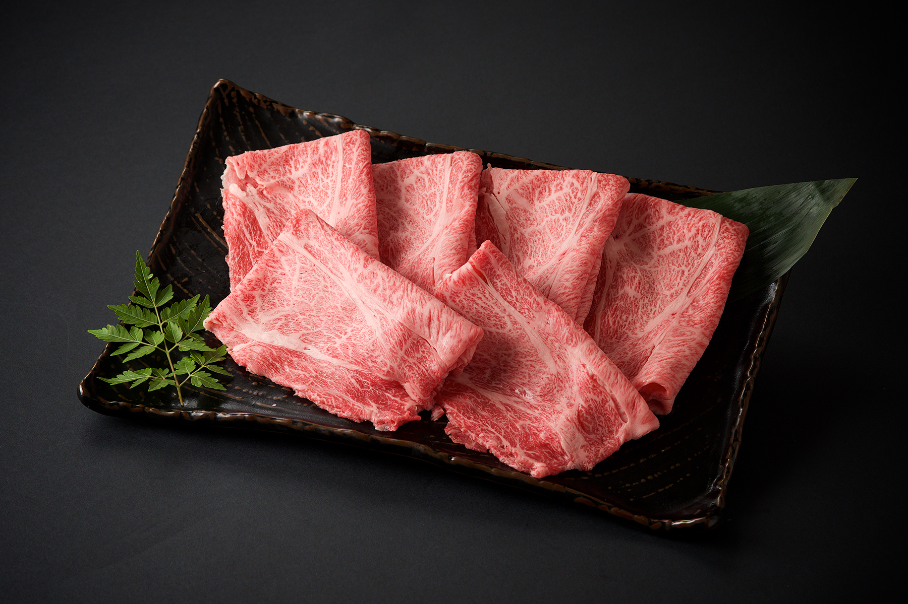 九州産黒毛和牛 ロースすきやき用/100g(850)