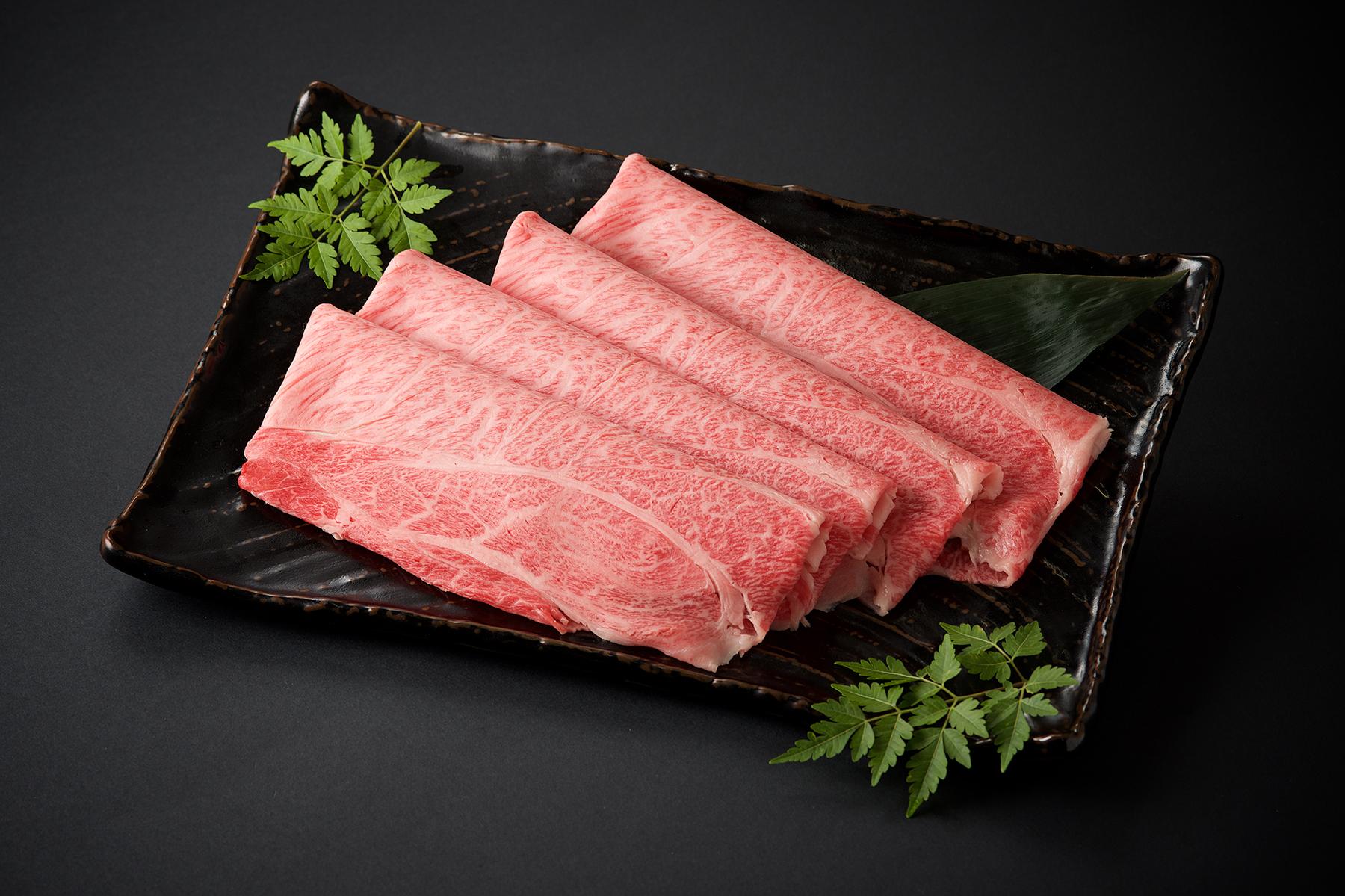 九州産黒毛和牛 ロースすきやき用/100g(1200)